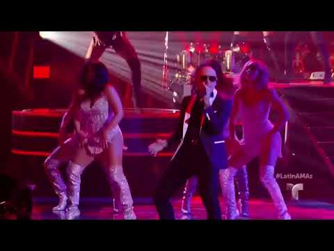 Pitbull & Fifth Harmony - Por Favor, Boom Boom & Don't Stop The Party (Latin AMA's 2017)