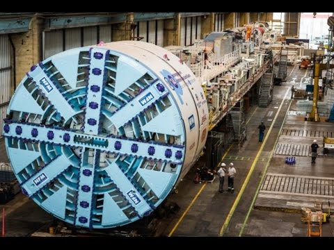 India's unique metro tunnels constructed by the giant machines - A Documentary
