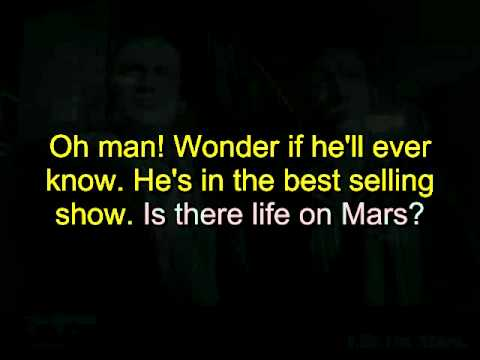 Ziggy Stardust- Life on mars Karaoke V1.avi