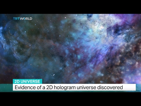 2D Universe: Evidence of a 2D hologram universe discovered