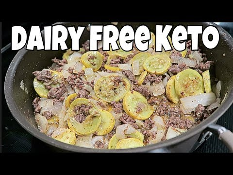DAIRY FREE Keto Full Day of Eating | Taco Seasoned Squash & Ground Beef