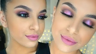 Dusty Pink Makeup Tutorial | Makeup By Leyla
