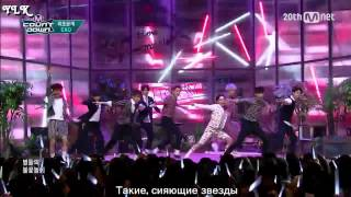 EXO - LOVE ME RIGHT (LIVE) [рус. саб]