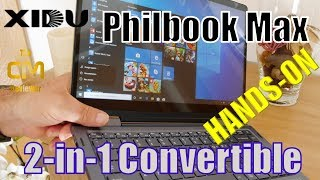 XIDU Philbook Max Test: 2-in1 Convertible Ultrabook - Hands-on (Deut...