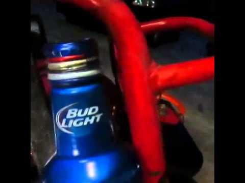 Diy mini bike go kart catch can