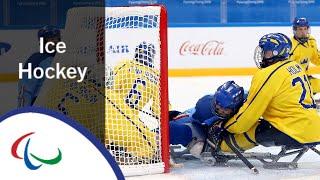 Ice hockey: Italy v Sweden | Premilinary Game | PyeongChang…