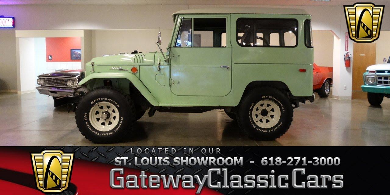 1970 toyota land cruiser fj40 6769 gateway classic cars of st