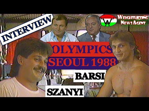 Hungarian Team's pre-olympics interview | 1988 - Seoul | ENG SUB