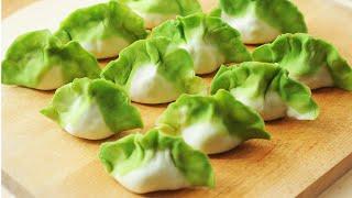 翡翠白菜餃子【健康蔬食】好可愛的中式麵點 C…