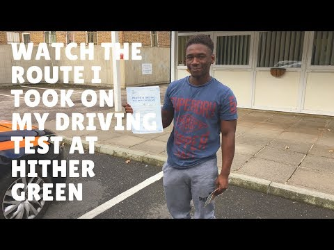 Hither Green Driving Test Route 19th September 2017 Do