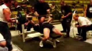 Andrey Butenko - Bench Press 2003 North Americans 245 kg