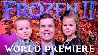WE WENT TO THE FROZEN 2 WORLD PREMIERE!! (KIDS GET SURPRISED 😊)