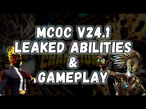 V24.1 Sunspot & Warlock Leaked Abilities and Gameplay - Marvel Contest of Champions