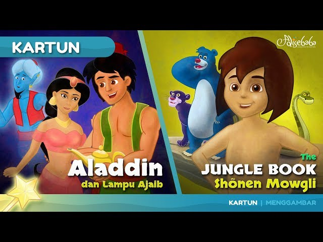 Aladdin bedtime stories for kids cartoon animation