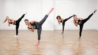 45-Minute Cardio Kickboxing Boot Camp