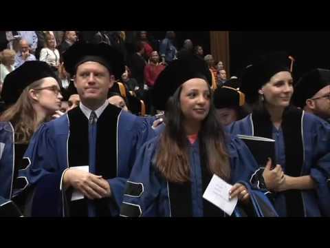 The George Washington University Doctoral Hooding Ceremony 2016