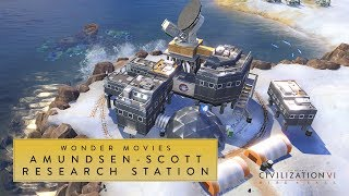 Video Civilization VI: Rise and Fall - Amundsen-Scott Research Station (Wonder Movies) download MP3, 3GP, MP4, WEBM, AVI, FLV Maret 2018