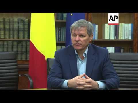 Romania PM and Social Democrat leader on polls