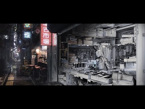 Creating a Sci-Fi Alleyway, Detailed Environment techniques with Devon Fay