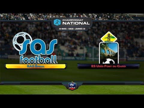 Championnat National - 30ème journée : SAS Epinal - ES Uzès Pont du Gard