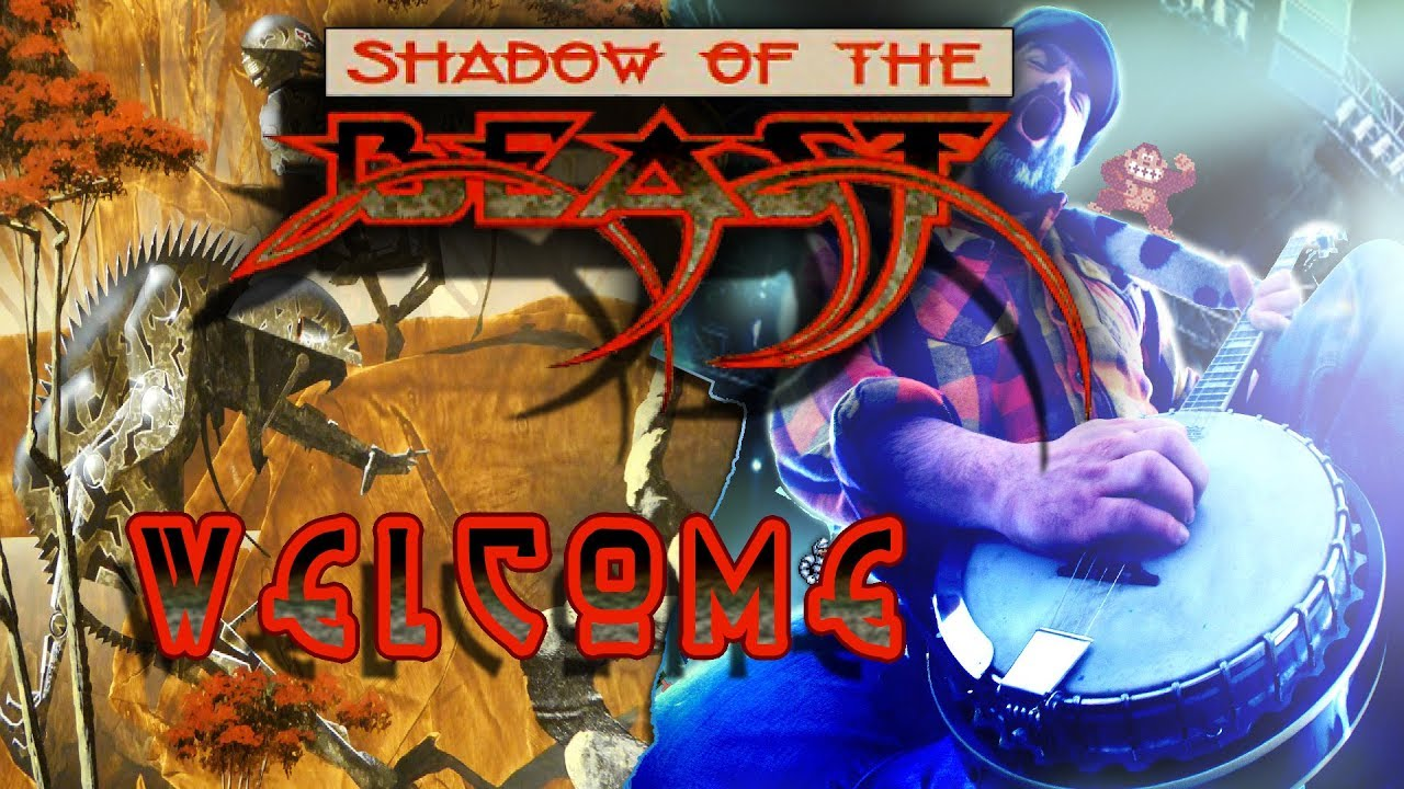 Banjo Guy Ollie covers the Shadow of the Beast exploration