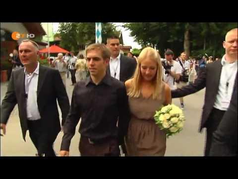 Philipp Lahm´s Hochzeit ! DFB Spieler heiratet!!! HD