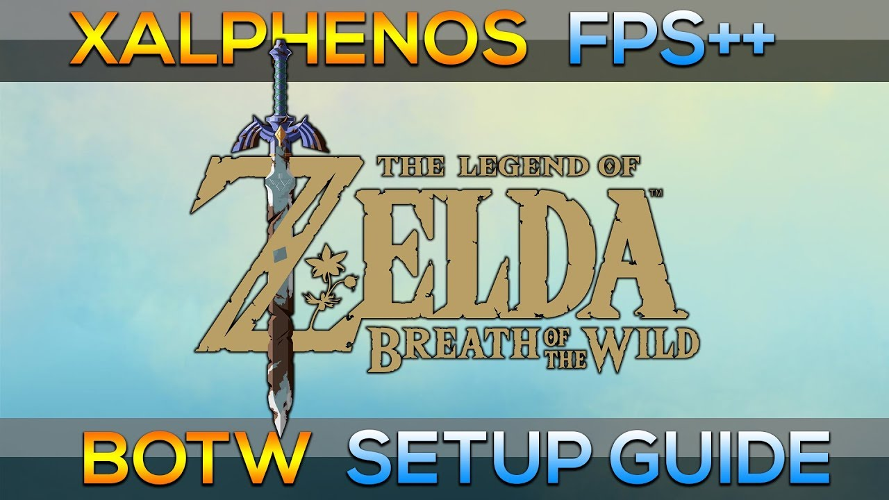 Cemu Breath Of The Wild 60fps Guide