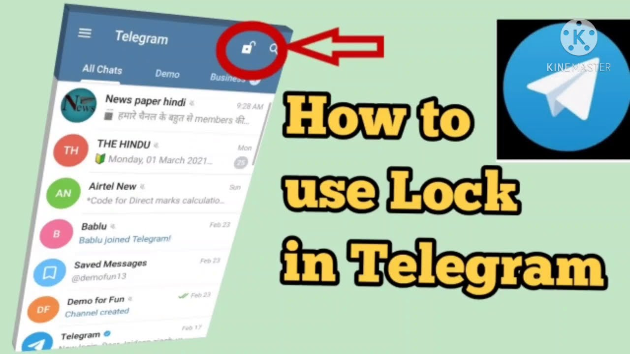 Download How to Set Passcode Lock in Telegram App on Android