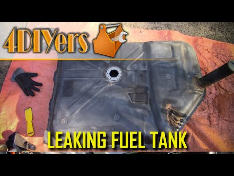 How to Repair a Leaking Metal Fuel Tank Without Welding