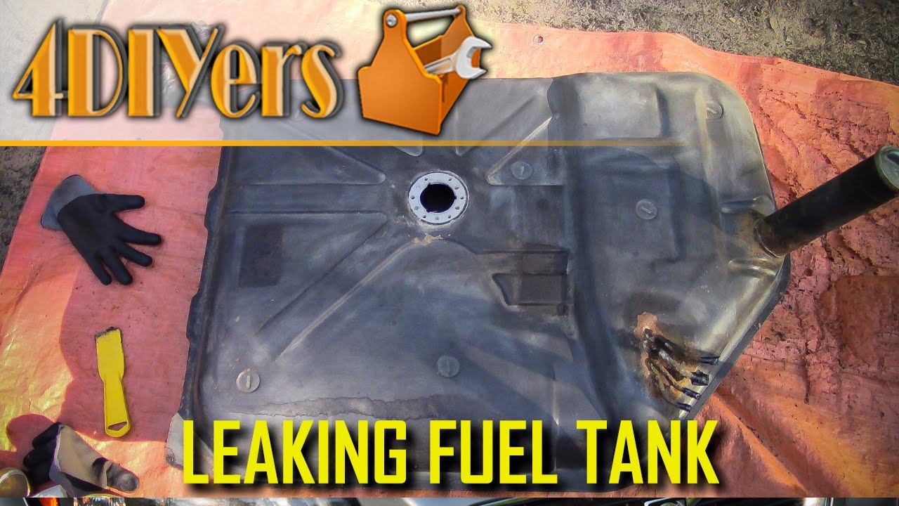 Fuel Tank Repair Putty Fix for Ford F-350 Compound Petrol Diesel DIY