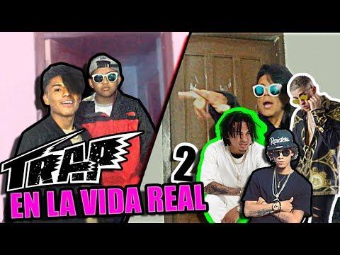 TRAP en la VIDA REAL 2 - Bad Bunny, Jon Z, Ozuna y más (VUELVE, TU NO METES CABRA REMIX)