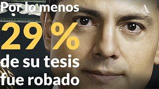 Peña Nieto, de plagiador a presidente - Aristegui Noticias
