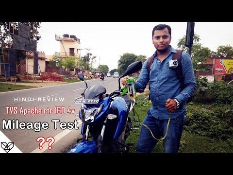 🔥TVS Apache RTR 160 4V Real Mileage Test (Hindi) Shocking Results