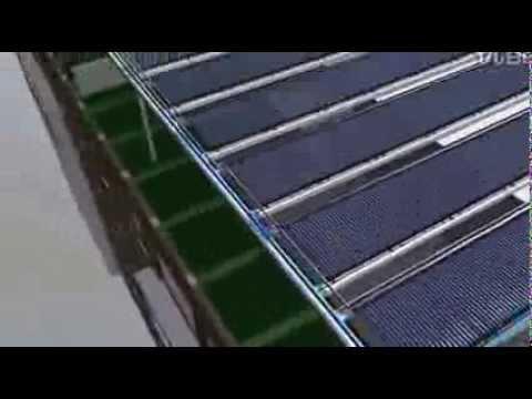 Solar Hot Water in Beijing Olympic 2008