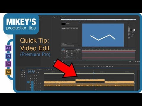 Quick Tip: Premiere Pro - offset video edit from audio edit