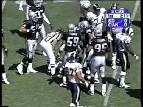 Chargers vs. Raiders, 2000