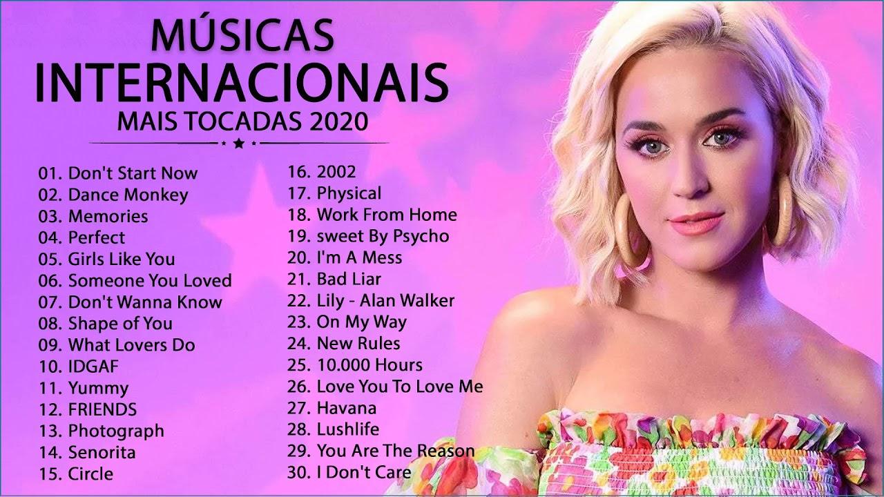 Músicas Pop Internacionais 2020 ♫  Top Internacional 2020 ♫  Melhores Músicas 2020