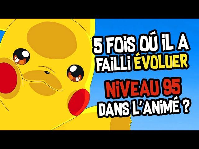 6 SECRETS de Pikachu dans l'Animé Pokémon.