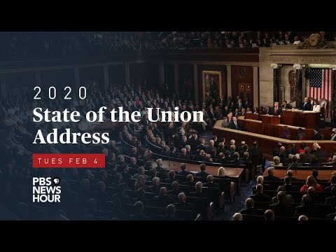 WATCH: 2020 State Of The Union Address Delivered By President Trump