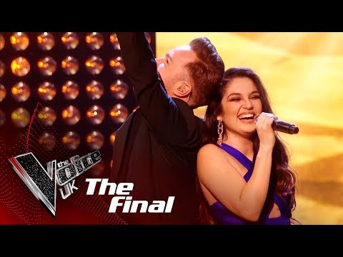 Lauren Bannon and Olly Murs Perform 'Ain't No Mountain High Enough': The Final   The Voice UK 2018