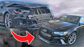 REBUILDING AN AUDI S6 IN 10 MINUTES