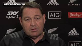 Steve Hansen explains second Test selections