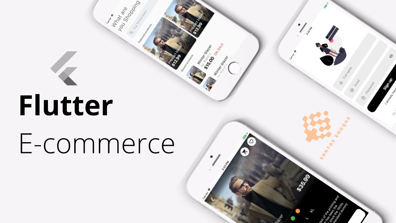 47 Flutter E-commerce App | loading products from database p 2