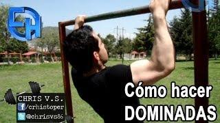 Cómo hacer dominadas fácil y rápido - Chris - CH Fitness Mexico