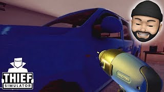 HACKING CAR ALARMS + STEALING A TRUCK!! | Thief Simulator #14