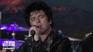 "Green Day ""Father of All…"" Live on the Howard Stern Show"