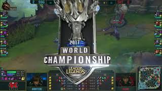 [2017 Worlds] Finals - SSG vs SKT - Game 3 - League of Legends - Samsung Galaxy vs SK Telecom T1