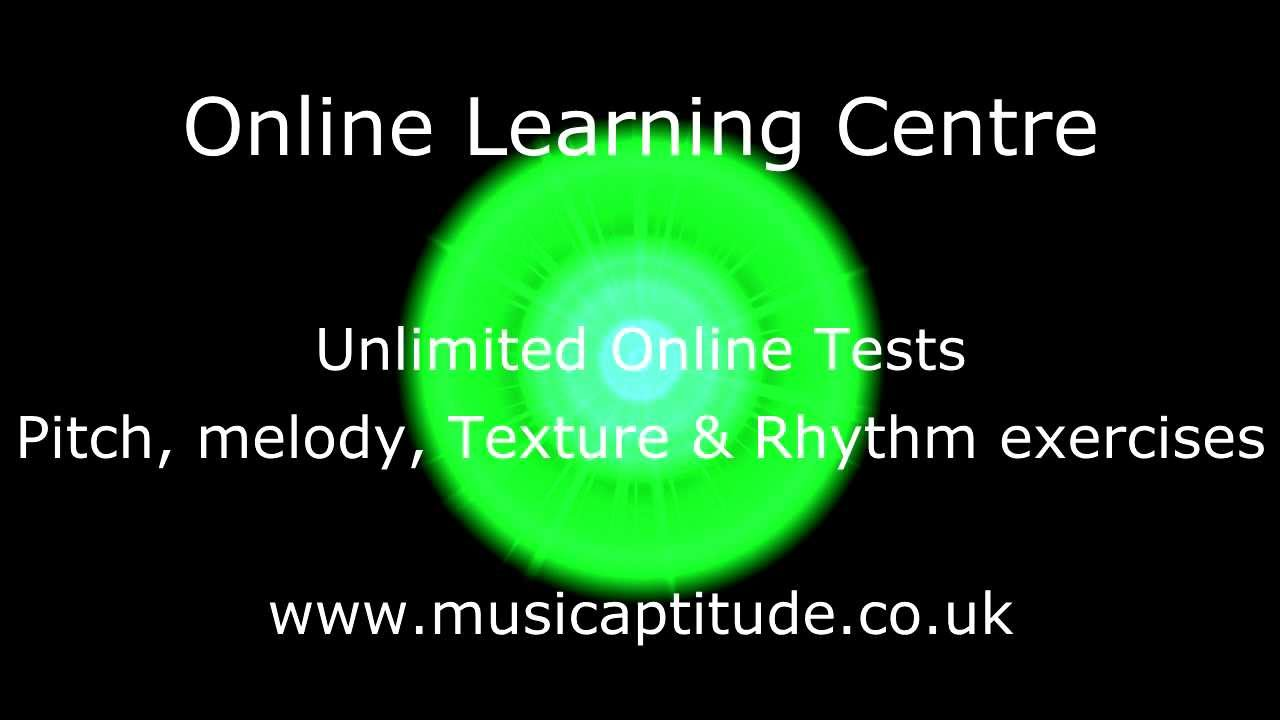 Music Aptitude Tests Youtube