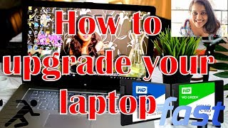 How to upgrade your laptop with a SSD