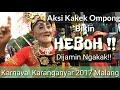 Penonton Ngakak   Karnaval Karanganyar 2017 Malang
